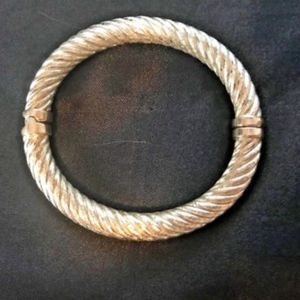 Jewelry - 14K/ 925 Sterling Vermeil Magnet Bangle Bracelet